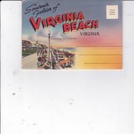 VIRGINIA BEACH Carte Postale Avec 18 Vues à L'intérieur (en Accordéon) - Virginia Beach