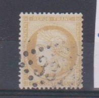 N 59 /  15 Centimes Bistre / Oblitéré / N 337 Bassoues - 1871-1875 Ceres