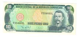 Dominican Republic 10 Pesos 1996 UNC .C. - Dominicana