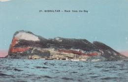 GIBRALTAR. ROCH FROM THE BAY.-TBE-BLEUP - Gibraltar