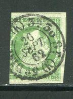 Y&T N°12 Oblitération De Paris Du 26 Septembre 1862 (K) - 1853-1860 Napoléon III.