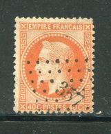 Y&T N°31 PC Des GC 357 - 1863-1870 Napoléon III Lauré