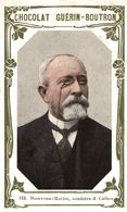 CHROMO  CHOCOLAT GUERIN-BOUTRON N° 132 BIENVENU-MARTIN MINISTRE D. CULTES - Guerin Boutron
