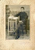 Photo D'un Jeune Militaire Du 63 Ième - Photographe Jaime Sbert Pretus à  Santa Rosa - Iles Baleares - Personnes Anonymes