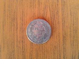 Chili 1 Peso 1933 TB - Chili