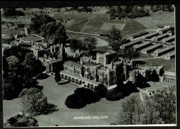 RB 1194 - Aero Pictorial Christmas Card - Real Photo Ashridge College Hertfordshire - Xmas