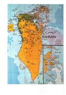 Bahrein Bahrain Map Carte Geographique Du Pays - Bahrain