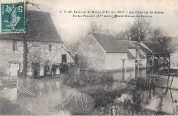 SAINT-ETIENNE-DU-ROUVRAY ENVIRONS DE ROUEN CRUE DE LA SEINE FERME PAUMIER 76 - Saint Etienne Du Rouvray