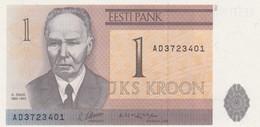 Rox Estonia 1992: 1 Kroon FDS - UNC - Estonia