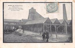 COURRIERES -  Mines -Fosse N° 3 - Environs 400 Victimes Ont Trouvé La Mort Au Fond De Cette Fosse ( Theme :Mines Mineurs - France