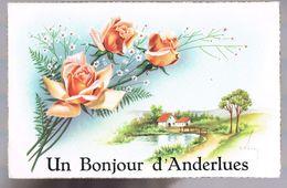 Un Bonjour D'ANDERLUES . - Anderlues
