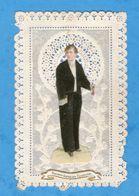 Souvenir De 1re Communion, Communiant, Découpis, Ajoutis, Canivet, Manque Cierge - Devotion Images