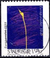 SWEDEN 1999 50th Anniv Of Council Of Europe - 7k Plant Shoot FU - Zweden