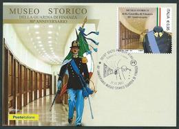 Italia 2017; Museo Storico Della Guardia Di Finanza, 80° Anniversario. FDC E Maximum Con Annullo Speciale. - 6. 1946-.. Repubblica
