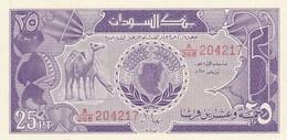 Rox Sudan  - 25 Piastres 1987 - UNC - Soudan