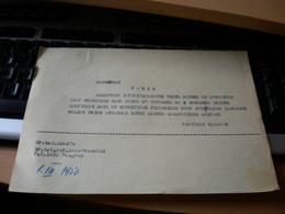 Matchfoot Paris  Partizan Beograd  1950 - Calcio