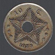 Pièce De 10 Centimes 1925 Congo Belge Belgisch Congo - Congo (Belgian) & Ruanda-Urundi