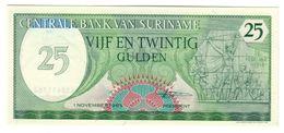 Suriname 25 Gulden 1985 UNC .C. - Surinam