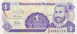 Rox NICARAGUA 1 CENTAVOS -UNC - Nicaragua