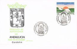Spanien FDC 2572 - Autonomie Für Andalusien - Sonderstempel Cordoba - Wappen, Coat Of Arms - FDC