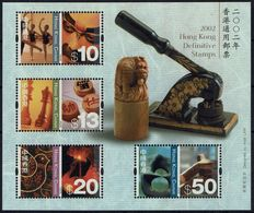Schach Chess Ajedrez échecs - Hongkong China 2002 - MiNr. Block 108 (1067/1070) - Schach