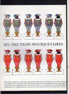 """1960 Publicité Laboratoires Bristol / Découpi,découpage / Découpez Et Collez """" Jeu Des Trois Mousquetaires """" - Découpis"""