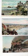 SAN FRANCISCO, California, USA, 3 Different Cliff House & Beach Pre-1910 Postcards - San Francisco