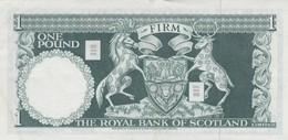 Rox Scozia 1969 1 Pound SPL - Banconote