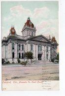 OAKLAND, California, USA, Alameda County Court House, 1907 Koeber Postcard - Oakland