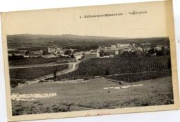 11 VILLENEUVE-MINERVOIS - Vue Générale - Autres Communes