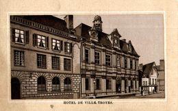 CHROMO  TROYES HOTEL DE VILLE - Autres