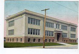 BAKERSFIELD, California, USA, New High School, Pre-1910 Rieder Postcard - Etats-Unis