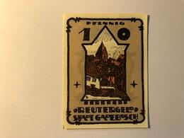 Allemagne Notgeld Gadebusch 10 Pfennig - Collections