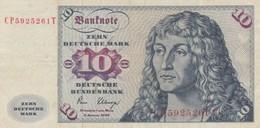 Rox Germania Federale DDR 10 Marchi 1980 BB - [ 6] 1949-1990 : GDR - German Dem. Rep.