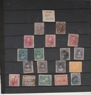 HAWAÏ - Lot Collection 18 Timbres Tous états - Hawaii