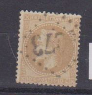 N  28 B  / 10 Centimes Bistre / Oblitéré - 1863-1870 Napoléon III. Laure
