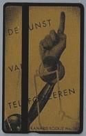NL.- Telefoonkaart. PTT Telecom. 4 Eenheden. DE KUNST VAN TELEFONEREN. KANARIE-BOEKJE No. 163. 404B - Reclame