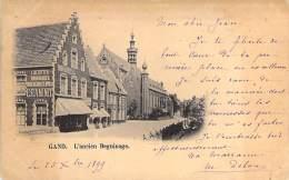 Gand. L'ancien Beguinage. ( 1899)    - L. De Zutter Huurhouder In Den Grooten Vos Estaminet. - Gent