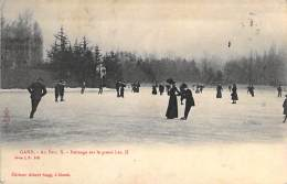 Gand. - Au Parc. Patinage Sur Le Grand Lac. (1911)  - Edt. Albert Sugg. à Gand. - Gent