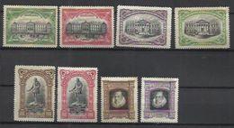 6004-SERIE COMPLETA III Centenario De La Muerte De Cervantes FR 11 A 18. (1916) Nuevo* VEAN IMAGENES. - 1889-1931 Kingdom: Alphonse XIII