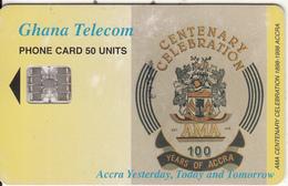 GHANA - Centenary Of Accra, 05/99, Used - Ghana