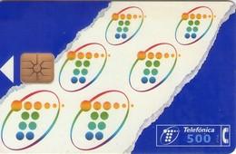 TARJETA TELEFONICA DE ESPAÑA USADA. 06.97 (455). 500 PTAS. - Spain