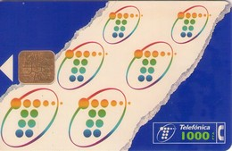 TARJETA TELEFONICA DE ESPAÑA USADA. 03.97 (456). 1000 PTAS. - Spain