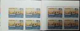 L) 1994 URUGUAY, UPAEP, PROOF, BOAT, EOLO, 4.80, SEA, SHIP, XF - Uruguay