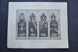 LA DECORATION ANCIENNE ET MODERNE DE PEINTURES MURALES DU XVème  DANS LE CATHEDRALE D' AMIENS - Vieux Papiers
