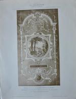 LA DECORATION ANCIENNE ET MODERNE DE PANNEAUX DECORATIFS POUR L' HÔTEL DU Dr H. A. ST JAMES ( NEUILLY SUR SEINE) - Vieux Papiers