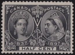 Canada       .     Yvert  .     38     .      *    .            Ongebruikt  .     /   .    Mint-hinged - 1851-1902 Regering Van Victoria