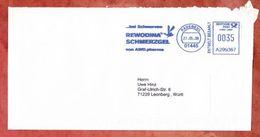 Infopost, Frama A299367, Rewodina Schmerzgel AWO Pharma, 35 C, Radebeul 2008 (47259) - [7] République Fédérale