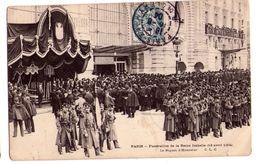 0614 - Paris - Funérailles De La Reine Isabelle ( 13 Avril 1904 ) - Le Piquet D'Honneur - - Funeral