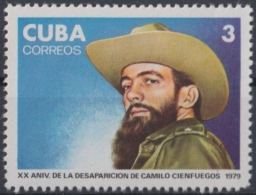 1979.110 CUBA 1979 MNH. Ed.2605. XX ANIV DESAPARICION DE CAMILO CIENFUEGOS. - Cuba